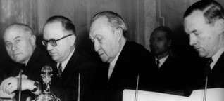 """Reden zu Europa 1945 bis 1979 - """"Auf dass endlich Friede werde!"""""""