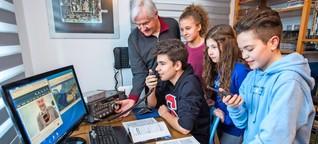Schüler wollen zur ISS funken - Kontakt mit Alexander Gerst geplant