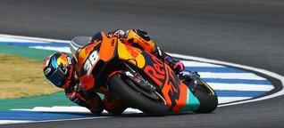 KTM erkennt in Thailand Fortschritte gegenüber Malaysia