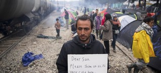 Vom Flüchtlingshelfer zum Flüchtling