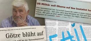 #MeinGroessterFail: Journalisten gestehen ihre Fehler