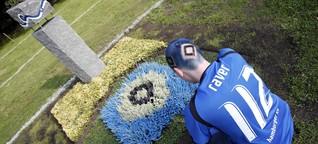 Fan-Bestattungen sterben aus: Das Kreuz mit der Raute