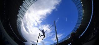 Sportfest im Olympiastadion: Muss gar nicht immer Fußball sein