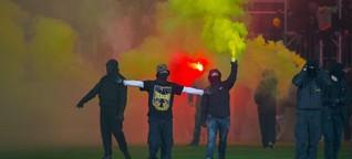 Gewalt im Stadion: Eine Datei mit Sprengkraft