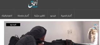 Wie IS-Propaganda derzeit vor allem über österreichische Domains verbreitet wird