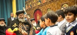 """Gespräch mit Papst Tawadros II.: """"Ich bitte Europa, den bedrohten Christen zu helfen"""""""