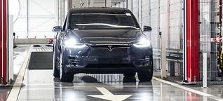 Wo Tesla seine E-Autos für Europa fertigt