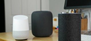 Smart Speaker: Apple HomePod, Amazon Echo, Google Home im Vergleich