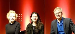 Moderation mit Nicole Krauss & Sunnyi Melles