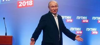 """Reaktionen zur Russlandwahl: Bundesregierung nimmt Putins Sieg """"zur Kenntnis"""""""