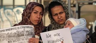 Frauen auf der Flucht: Gestrandet in Griechenland