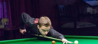 Snooker-Youngster Kleckers: Randsportart mit jungem Hoffnungsträger