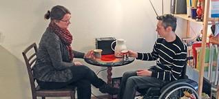 Ein Apartmenthaus für Menschen mit Behinderungen und Studierende