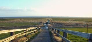 Leben auf Oland, der ältestens Hallig in der Nordsee