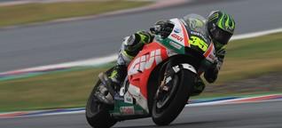 MotoGP Argentinien: Crutchlow siegt, Marquez rammt Rossi