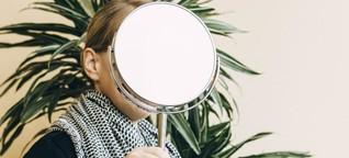 Die fremde Frau im Spiegel