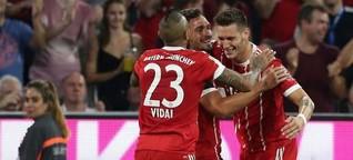 Debütantenball in München: Premiere für Süle, Tolisso und den Videobeweis