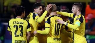 Champions League: Zwölf Tore beim Wettschießen zwischen BVB und Legia Warschau