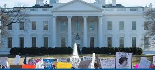 Empörung über Trump: Rekordzahl an Frauen strebt in die Politik