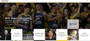 Multimediareportage Basketball: MHP Riesen Ludwigsburg