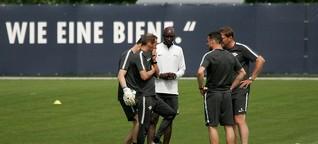 Das Training von RB Leipzig am 10. Mai