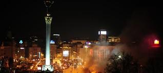 Verletzter Demonstrant vom Maidan: In der Schusslinie