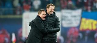 Hasenhüttl-Abschied in Leipzig: Das Ende von Ralph & Ralf - SPIEGEL ONLINE - Sport