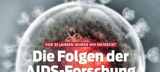 BLICK-Special: Vor 35 Jahren wurde HIV entdeckt