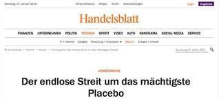Homöopathie: Der endlose Streit um das mächtigste Placebo