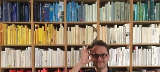 Me, my shelf and I: Der Regaldesigner und Autor Rafael Horzon