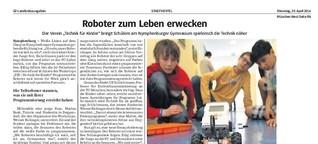 Roboter zum Leben erwecken