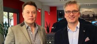 Gespräch mit Elon Musk über Tesla