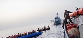 Forchheimer rettet Flüchtlinge aus dem Mittelmeer