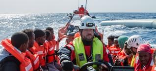 """Interview Flüchtlingsretter im Mittelmeer: """"Im Einsatz funktioniert man"""""""