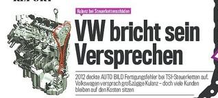Motorschäden: VW zieht Kulanz-Versprechen zurück
