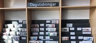 Lokaljournalismus in Schweden - Weiße Flecken beseitigen