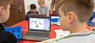 Mit Lego & Co. gegen die Angst vor Naturwissenschaften