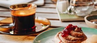 Iss dich in den britisch-skandinavischen Himmel im Café Valentin