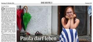 Paula darf leben