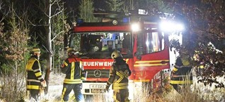 Newsblog zu der Waldbrand-Serie in München: Irrer zündelt am Freitag zweimal in Waldperlach [1]