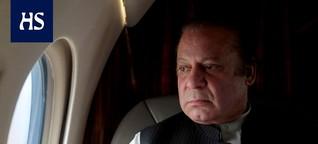 Pakistanin entinen pääministeri pidätettiin Lahoren lentokentällä - sai korruptiotuomion neljästä luksusasunnosta