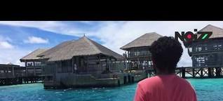 Auf dieser Müllinsel landet der Abfall der Malediven