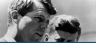 """Bobby Kennedy: """"Es war, als würde mit ihm die Hoffnung sterben"""""""