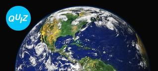Quiz: Wie gut kennst du deinen Heimatplaneten Erde?