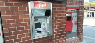 Kunden ärgern sich über nicht einsatzbereiten Geldautomaten