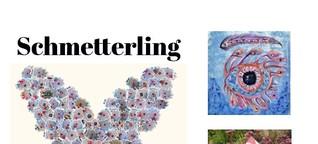 Schmetterling der kreativen Kunst