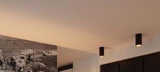 Licht im Dialog mit der Architektur, V8 Hotel Motorworld