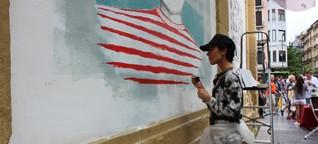 Chilenische Künstlerin liebt das Leben im Baskenland