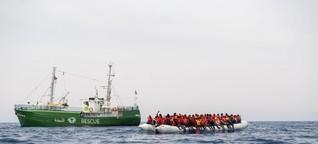 Sind Seenotretter im Mittelmeer für mehr Flüchtlinge verantwortlich?