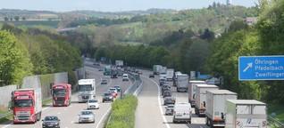 Warum grüne Mittelstreifen von Autobahnen verschwinden